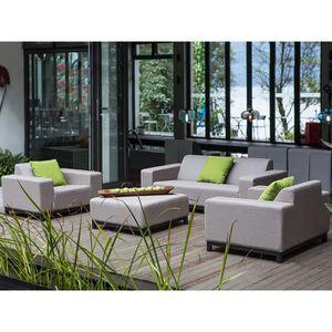 Salon de jardin LUXE MONTMARTRE 6 à 8 places - Achat / Vente salon ...