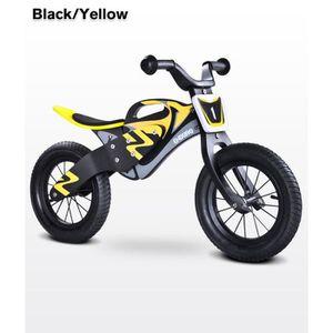 DRAISIENNE Vélo sans pédales - Draisienne en bois enfant 3-6a