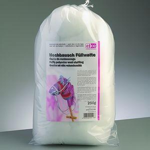 OUATE Ouate de rembourrage blanche en synthétique, 250 g