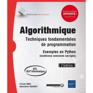MANUEL UNIVERISTAIRE Livre - algorithmique ; techniques fondamentales d