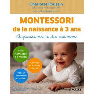SUPPORTS PÉDAGOGIQUES Montessori de la naissance à 3 ans