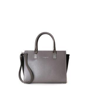 42142grisc acquisto Woman Paris Lancaster pelle borsa di grigia in qwxZnCzt