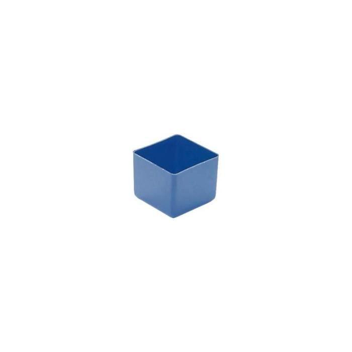 ORGANISATEUR DE TIROIR  Boite de tiroir 49x49x40 mm bleu