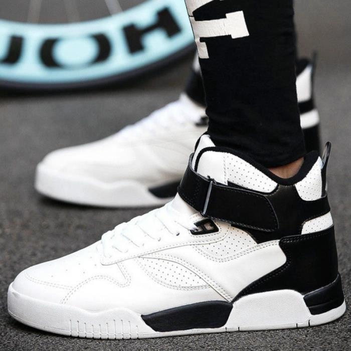couleurs Danse 5 plein Respirant et Basket air lacets Hop hautes Hip Shoes 10 Noir Fashion à 3 Casual en ExP7UqW