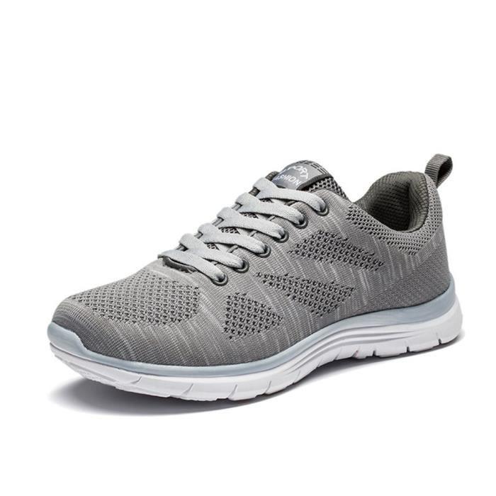 Haute Ultra Chaussures De Homme Sport Basket Qualité XZ109gris39 Léger GD AFxU7nq