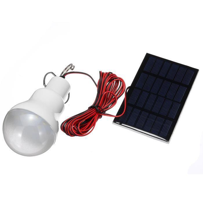 e2aff350c2386 Ampoule led avec panneau solaire - Achat / Vente pas cher