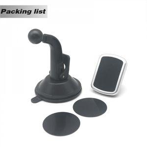 FIXATION - SUPPORT Support Téléphone Noir Aimant Tableau Bord Voiture