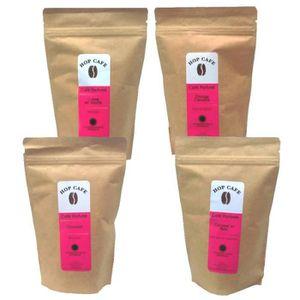 CAFÉ Pack Découverte 4 x 18 dosettes douples de Café ar