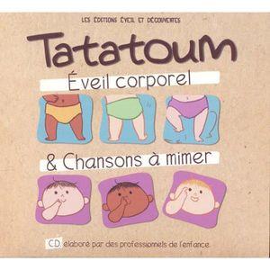 CD COMPTINES - ENFANTS Tatatoum - Eveil corporel & chansons a mimer by En
