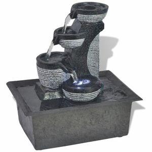 Fontaine de jardin en resine - Achat / Vente pas cher