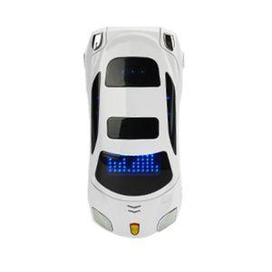 Téléphone portable Mini Flip Téléphone Forme de Voiture Coupé  1.8''