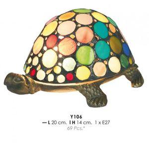 LAMPE A POSER Lampe Tiffany déco Durchmessr 20cm, hauteur 14cm Y