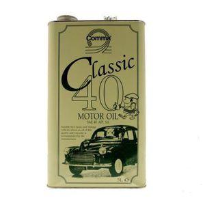 HUILE MOTEUR Comma CLA405L Huile moteur Classic 0W/40 5 l