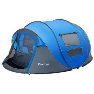 TENTE DE CAMPING Pop up Tente de Camping - Automatique - Revêtement