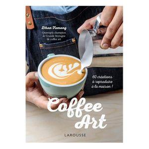 Décors de table Coffee art : décors créatifs pour barista amateurs