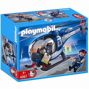 UNIVERS MINIATURE Playmobil 4267 - Hélicoptère de police