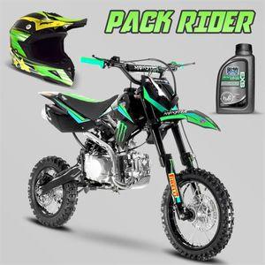 MOTO Pack Rider - Dirt bike SX 125cc 12/14 Monster + Ca