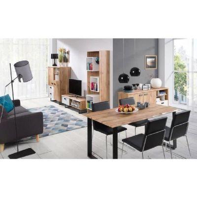 PRICE FACTORY - Ensemble meuble de salon design OAK. Meuble TV en ...