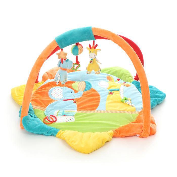 NICOTOY Tapis d éveil Happy Circus Multicolore - Achat   Vente tapis ... 7a278d27d461