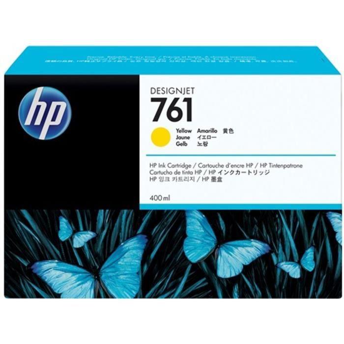 HP Cartouche d'encre 761 - Pack de 1 - Jaune