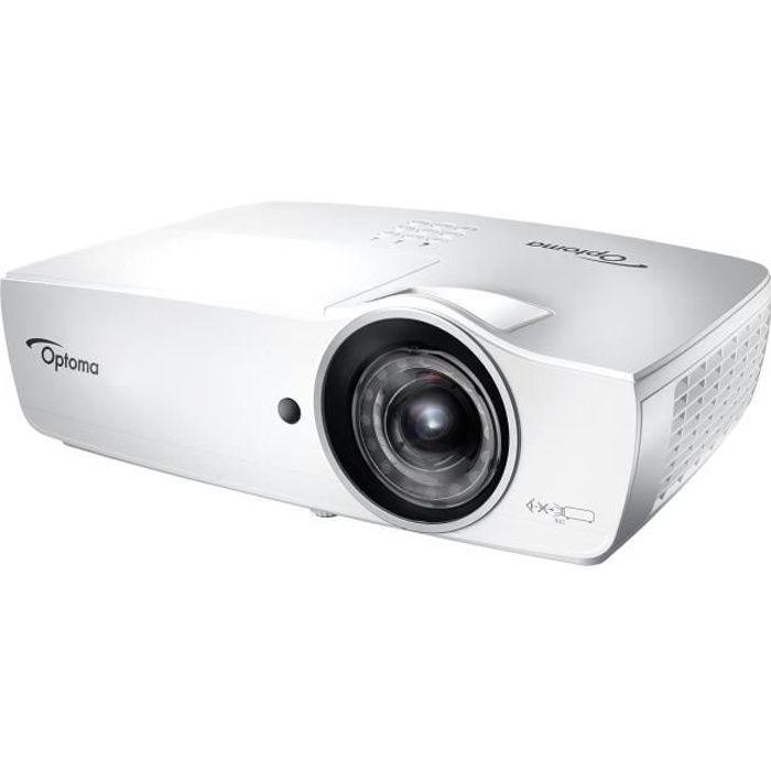 OPTOMA Projecteur DLP EH460ST - 3D - 4200 ANSI lumens - Full HD (1920 x 1080) - 16:9 - 1080p - Objec