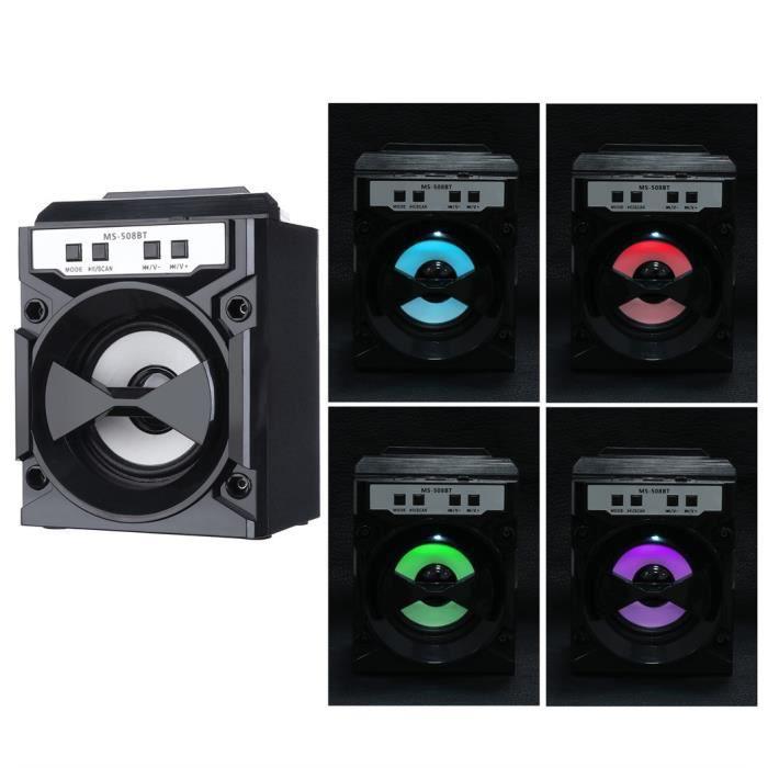 Extérieur Sans Fil Bluetooth Haut-parleur Portable Super Bass Avec Radio Usb - Tf Aux Fm_r1703