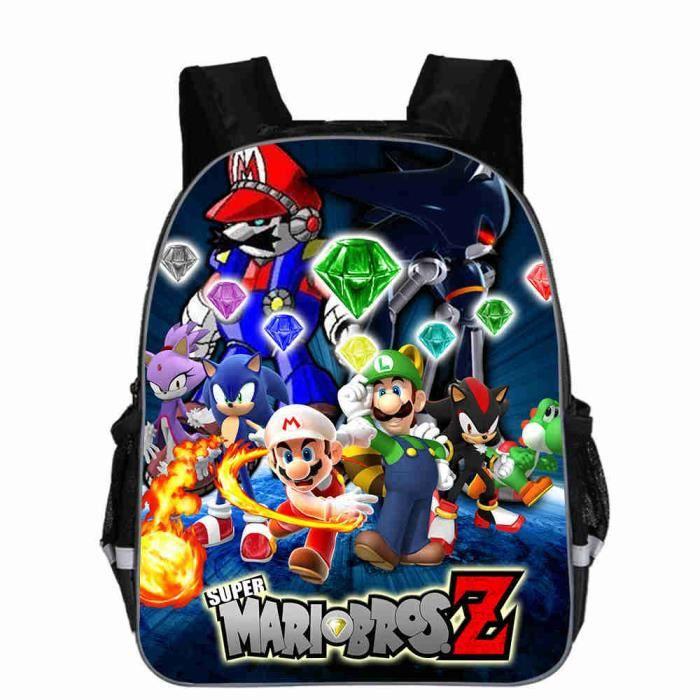 nouveau produit 4fd4e 8da91 Sac à dos Enfants Super Mario 16