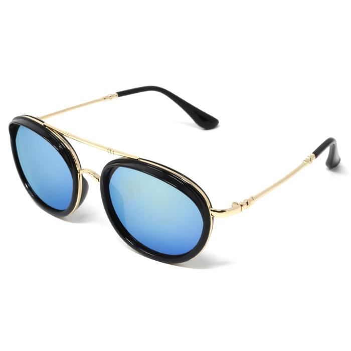 Premium Mirror Coated Lenses Sunglasses With Uvb Protection QWAGG
