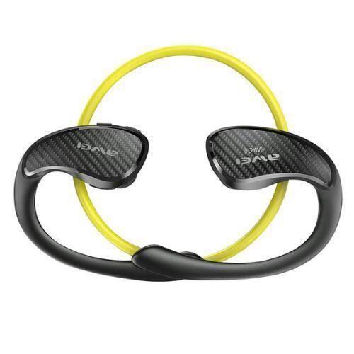 Awei Ipx4 Sport Stéréo Casque Nfc Bluetooth Écouteurs Sans Fil Tour De Cou Style Téléphone