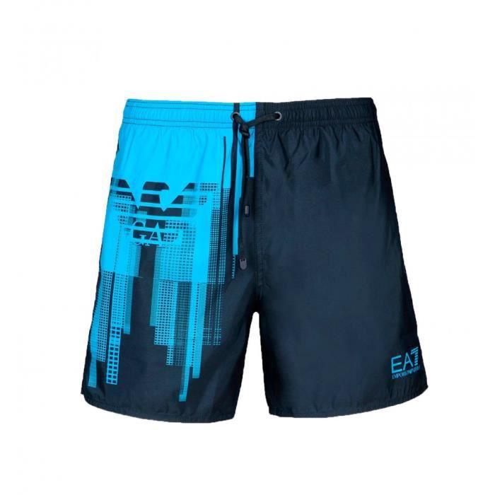 68e52d1394d0a Short de bain EA7 Emporio Armani (Bleu) Bleu - Achat   Vente maillot ...
