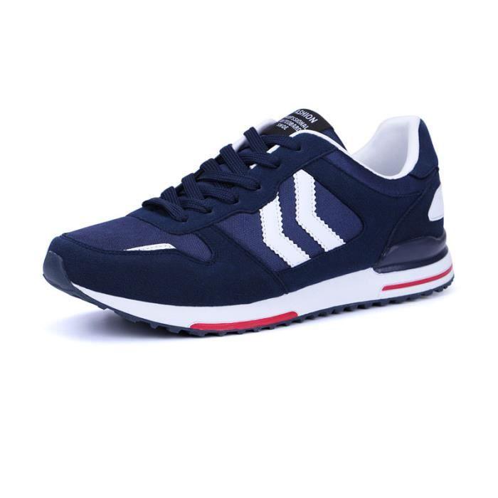 Baskets Homme Chaussures de course ED368-Bleu