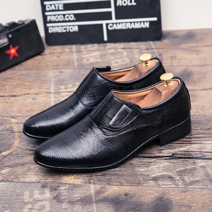 Mocassins pour homme Chaussures de villeChaussures pour l'automne et l'hiver Chaussures de loisirsà la main Chaussures