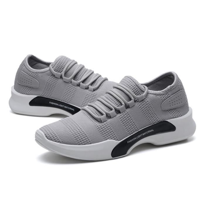 CHT Occasionnelles Homme Chaussure Basket Comfortable XZ011Gris 44 Ultra wzqX6UKv