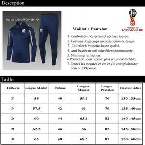 ... MAILLOT DE FOOTBALL 18 19 Maillot manches longues + pantalon Enfant Co.  ‹› 0e85783c62e