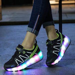 check out 2799b 21f90 ... BASKET Enfants Roller skateshoes USB Charge Sneaker avec ...
