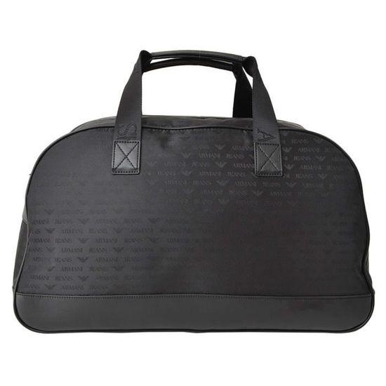 7cd9441fb20e Sac de voyage week end Armani Jeans pour homme Noir noir - Achat   Vente sac  de voyage 8052390280267 - Cdiscount