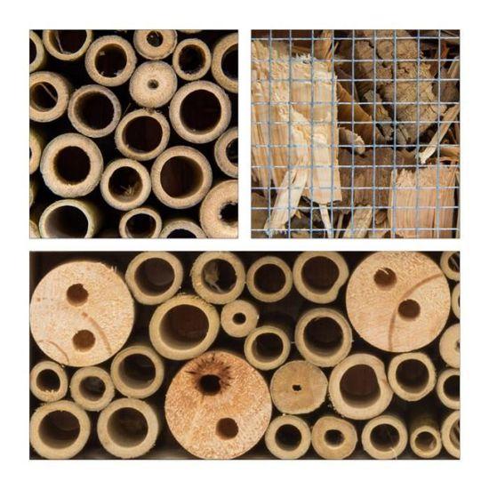 Materiaux Naturel hôtel à insectes matériaux naturels papillons abeilles coccinelles