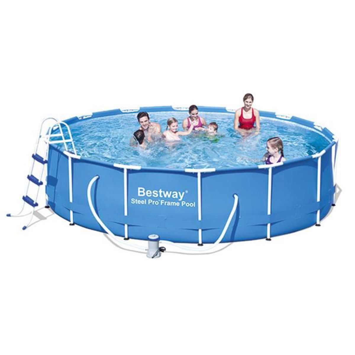 piscine tubulaire amovible bestway steel pro 305x100 cm