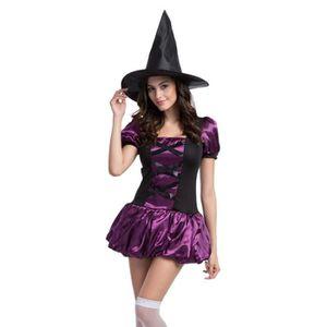 DÉGUISEMENT - PANOPLIE Smile Halloween Costumes Femme Déguisement Sorcièr
