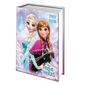 AGENDA - ORGANISEUR Agenda scolaire REINE DES NEIGES snowflake 2017-20