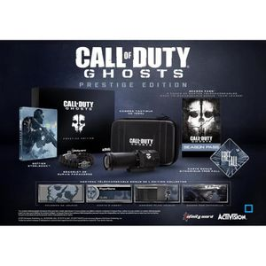 JEU PS3 CALL OF DUTY : GHOSTS - EDITION PRESTIGE (IMPORT)