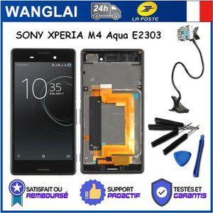 ECRAN DE TÉLÉPHONE VITRE TACTILE +Écran LCD + Chassis complet Sony Xp