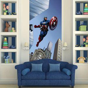 AFFICHE - POSTER Poster porte Captain America Avengers Marvel