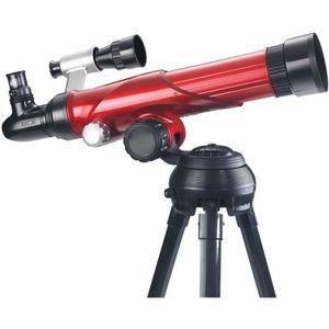 TÉLESCOPE AKOR Télescope 3 oculaires avec objectif 75 mm