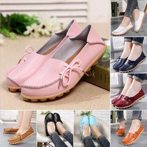 Napoulen®Loisirs floral imprimer patin Chaussures Slip sur Flats mocassins Bleu-XYY70808514BU fgBVZnl