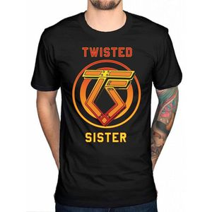 T-SHIRT Homme Cotton T Shirt Twisted Sister You Can't Stop