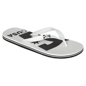 TONG DC SHOES Spray Logo Tong Homme - Taille 44.5 - BLA