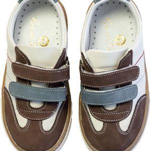 Chaussures en cuir SST 011 21 Classic Navy Brown BSPVvp7
