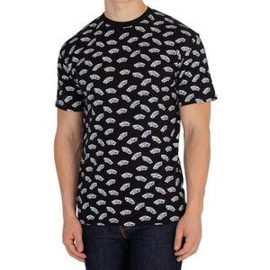 T-SHIRT Vans Homme T-shirt déformé, Noir