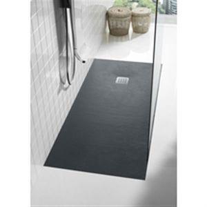 receveur douche gris achat vente receveur douche gris pas cher cdiscount. Black Bedroom Furniture Sets. Home Design Ideas